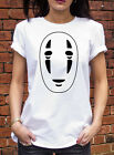No Face カオナシ kaonashi t-shirt mens Womens T shirt Spirited away Film R0282