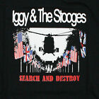 IGGY AND THE STOOGES T-SHIRT IGGY POP SEARCH AND DESTROY FUN HOUSE ALL SIZES VTG