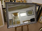 "59mm(2"") ORNATE SILVER WALL AND OVERMANTLE MIRRORS - VARIOUS SIZES AVAILABLE"