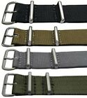N.A.T.O Military Style Watch Straps (16mm - 22mm) - Various Colours/Buckles