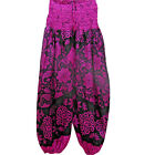 UC-52  Nepalese Funky Festival Hippy Pink Cotton Pant Yoga Meditation Trouser