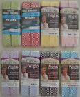 """Wrights Quilt Binding Double-7/8""""x3y- Gingham Check - 8 colors!!! Choice of one"""