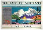 196 Vintage Railway Art Poster The Face Of Scotland *FREE POSTERS