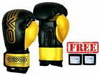 EVO Maya Leather Boxing gloves MMA Sparring GEL Punch Bag Martial Arts Muay Thai