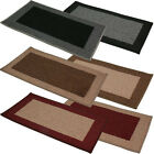 JVL Machine Washable Madras Indoor Door Mat 40x70cm ~ Assorted Colours