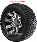 """12"""" RHOX RX180 Vegas Wheel with Tire Combo and EZGO Golf Cart Lift Kit"""