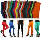 Womens Color Skinny Jeggings Leggings Pencil  Stretchy Soft Women Pants
