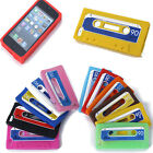 Cassette Tape Phone Case Silicone Rubber Back Skin Cover For Apple Iphone 5 5S