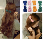 Fashion Elegant Cute Women Girls Lace Bowknot Bow Hairpin Hair Clip Barrette New