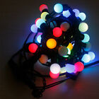 Ball Shape LED Fairy String Lights Waterproof Outside Cool Wedding Xmas Light