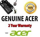 Genuine ORIGINAL Acer Aspire Notebook AC Adapter Battery Charger +UK Power Lead