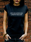 Stressed Depressed Langdon Obsessed Tshirt American Horror Story T Shirt J0921