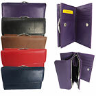 BRAND NEW LADIES WOMENS SOFT LEATHER VINTAGE COIN PURSE CARD HOLDER WALLET