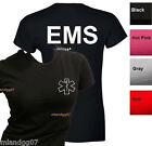 Junior Sizes EMS T-Shirt Emergency Medical Services Service Women Shirt