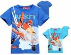 Kids Boys Girls Planes Dusty Skipper Dottie Short Sleeve Tops T-Shirts 2-8 Years
