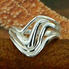 STERLING SILVER LINES RING SOLID .925 /NEW SIZE 5-12 JEWELRY