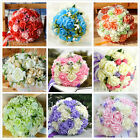 HANDMADE Bride Bridesmaid Wedding Posy  Bouquet Rose Flowers All Color Size Home