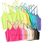 Popular Style Y-Shape Back Strap Sleeveless Tube Top Brassiere Bra  Candy Color