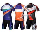3 color Cycling Bicycle BIKE MTB Comfortable outdoor Jersey + Shorts size S-XXXL