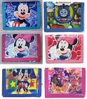 Pokemon Mario Bros Spongebob Mickey Minnie Mouse 3-Fold Coins Bag Wallet Purse