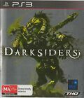 PLAYSTATION 3 DARKSIDERS PS3 GAME AUSTRALIAN RELEASE