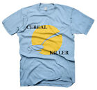 Mens Funny Saying T-Shirts-Cereal Killer-Funny Tees For Men-Various Colours