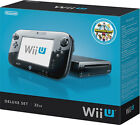 ★BRAND NEW★ NINTENDO 32GB Wii U Deluxe Console With GamePad And Nintendo Land!