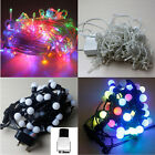 10M/12M Colorful LED String Fairy Lamp Christmas Easter Light Electric Power