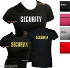 Junior Sizes SECURITY T-Shirt Event Bouncer staff Party Women Shirt TWO SIDES