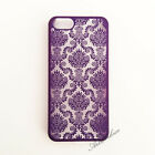 Damask Vintage Pattern Rubber Protector Hard Case Cover For Apple iPhone 5/5S