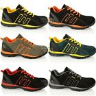 MENS GROUNDWORK STEEL TOE CAP LIGHTWEIGHT WORK LEATHER SAFETY TRAINERS SHOE SIZE