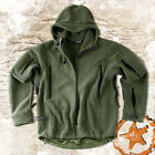 HELIKON PATRIOT,  MENS MILITARY TACTICAL HOODED FLEECE JACKET,  OLIVE,  ALL SIZES