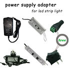 2A/5A DC 12V Power supply transformer AC adapter for led strip 5050/3528 RGB UK