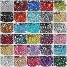 3mm 1000-10000 PCS sparkling Resin Rhinestone Flatback  14 Facets Crystal