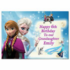 504/blue Personalised greeting card any name age relationship special gorgeous