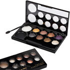 10 Colors Shimmer Smoky Eyeshadow Blush Makeup Palette Cosmetic Powder Compact