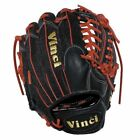 Vinci Pro 22 Series Mesh Back JC3333-22 Baseball Glove Black with Red Welting an