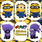 2 x Despicable Me Minions - Dave Stuart Jerry Purple Minion Shoe Charms Jibbitz