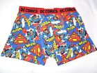 bnwt DC Comics character mens novelty All Over Superman boxers size M