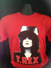 Marc Bolan T-Rex Slider T-Shirt  RED  sizes Small to XXXL