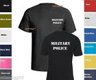 Military Police T-Shirt @ Two Sides Print   Shirt SIZES S-5XL image