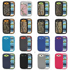 Military Shockproof Dirtproof Defender Camo Case for Samsung Galaxy S3 i9300
