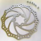 MTB Hydaulic & Mechanical cable Disc Brake Rotor 160mm, 180mm, 203mm, incl bolts