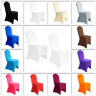 50 Chair Covers Spandex Lycra Cover Wedding Banquet Anniversary Party Decoration