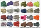 550 paracord parachute cord Mil Spec Type III 7 Strand - 100ft