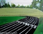 Track and Field Running Sports Wall Art Print