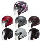 *FREE SHIPPING* LS2 TRACK OF569 Motorcycle Helmet (All Colors) Open Face