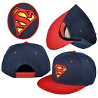 New  Superman Comics Snapback Adjustable baseball cap flat hat