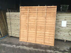 Strong Garden Lap Panels, 6ft ,5ft, & 4ft Dip Treated Top Quality Fencing Panel