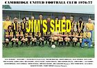 CAMBRIDGE UNITED F.C.TEAM PRINTS (1970 / 1973 / 1976-77)